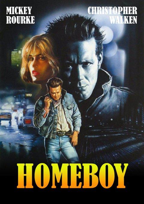 Homeboy  (1988) Happy Birthday, Mickey Rourke!