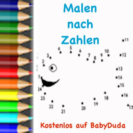 Twitter पर Babyduda Https T Co Mbeldulr9m Malen Nach Zahlen Vorlagen Fur Kinder Ausdrucken Verbinden Ausmalen Malennachzahlen