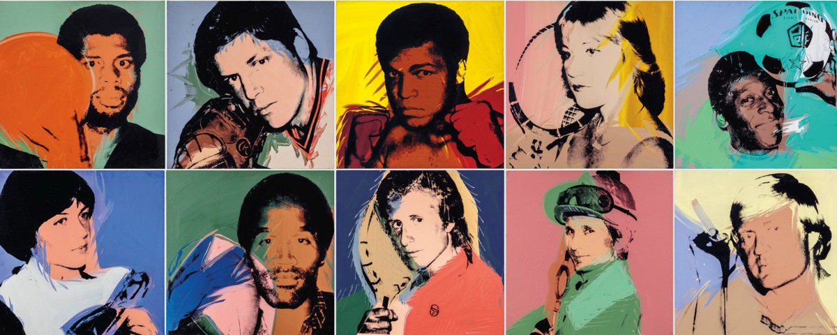 We are honored to offer The Collection of Richard L. Weisman in our upcoming major sales this fall in #NewYork. The collection includes a selection of paintings, drawings, works on paper and sculpture, including #AndyWarhols Athletes bit.ly/2kMlzIP