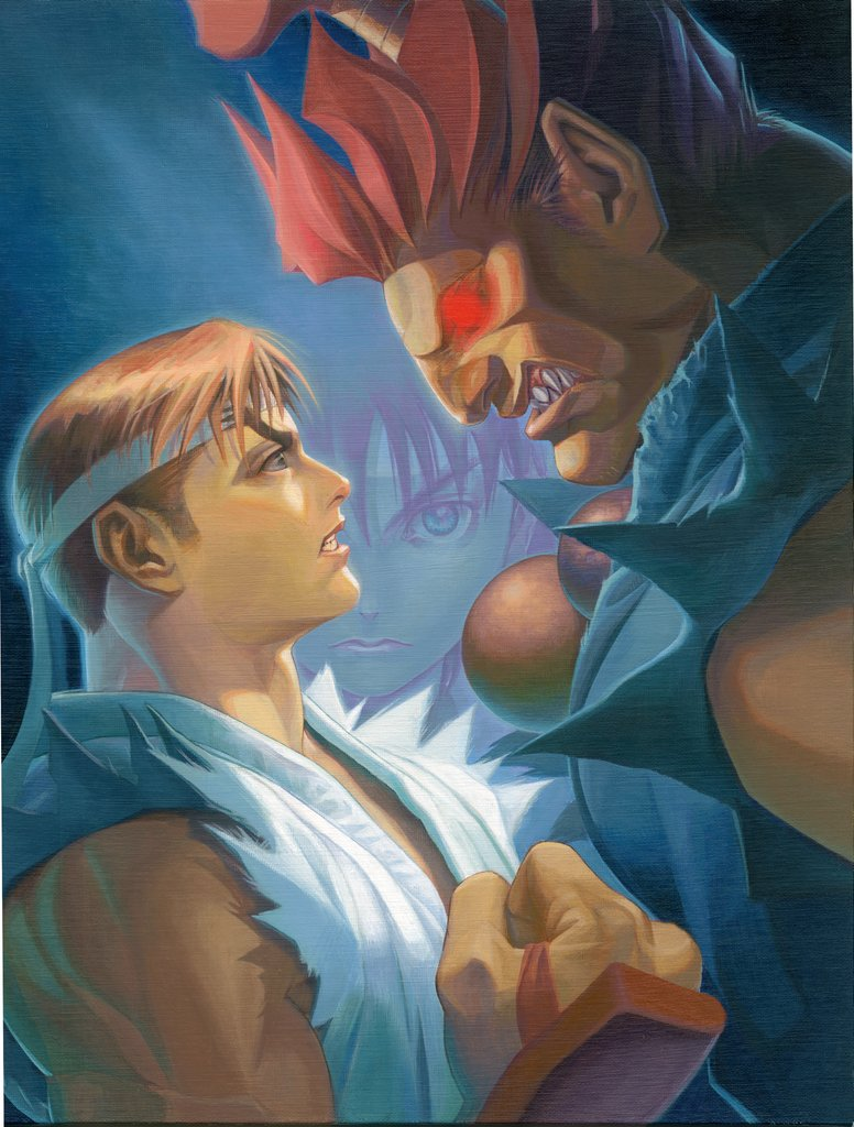 Capcom artist Dai-Chan appreciation post! Artwork that defined an era... #capcom #streetfighter #darkstalkers #daichan #fightinggames #artwork #fgc <br>http://pic.twitter.com/wlxFgb3nk0
