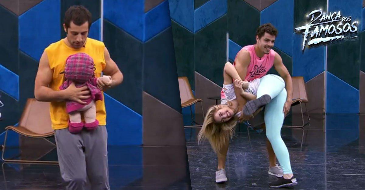 RT @gshow: Veja os ensaios do time masculino do #DançadosFamosos! → https://t.co/bixEmqTLqx #Domingão https://t.co/wKL3CVjzd4