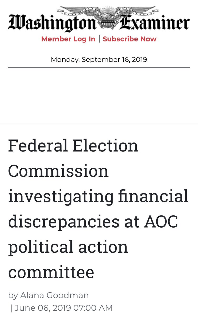 You should have stuck with your decision to delete this tweet, @AOC.   You were credibly accused of campaign finance violations just a few months ago  By your own logic you should be expelled from the House