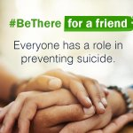 Image for the Tweet beginning: Suicide prevention is everyone's business.