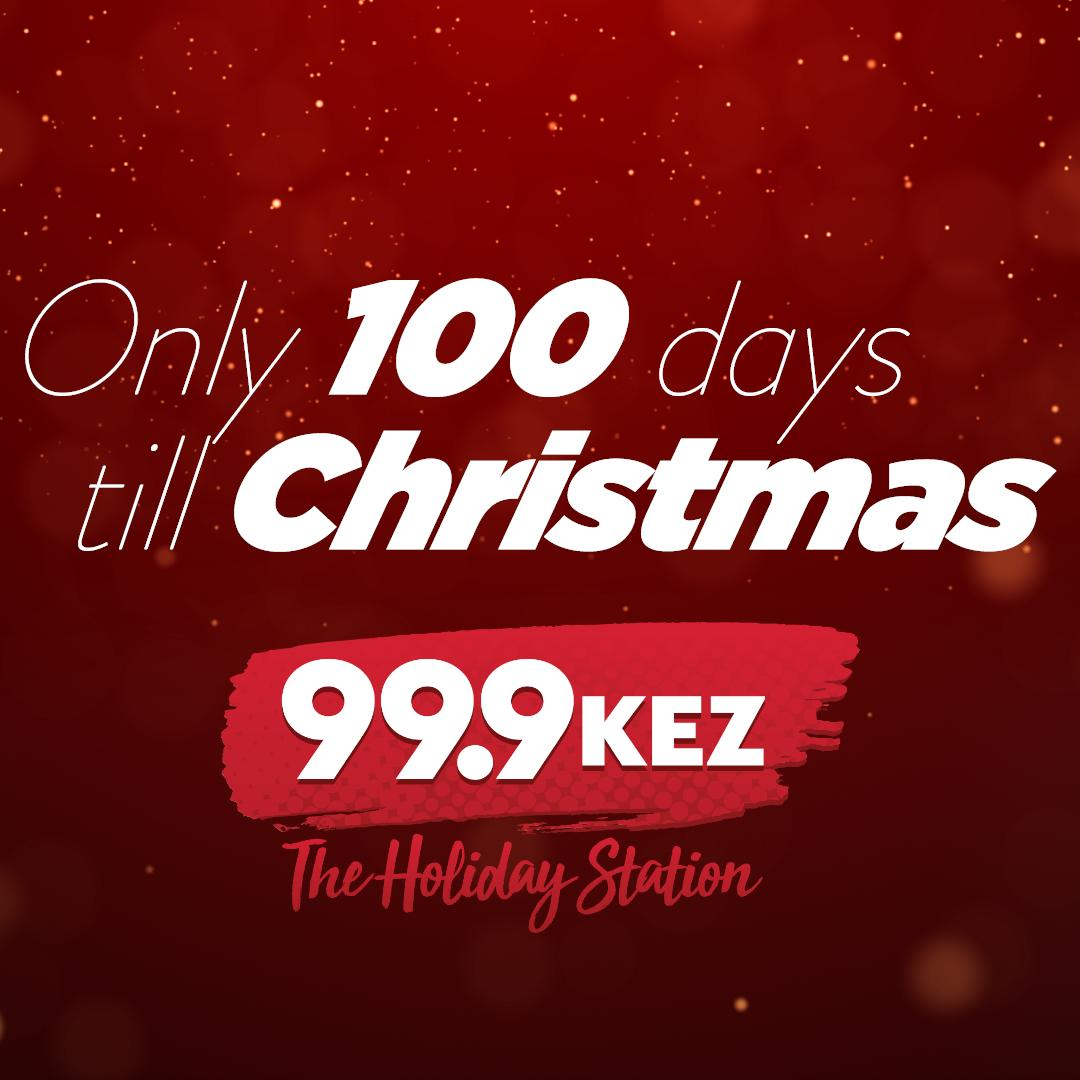 Continuous Christmas Music.104 7 Kiss Fm On Twitter The Countdown Is On Only 100