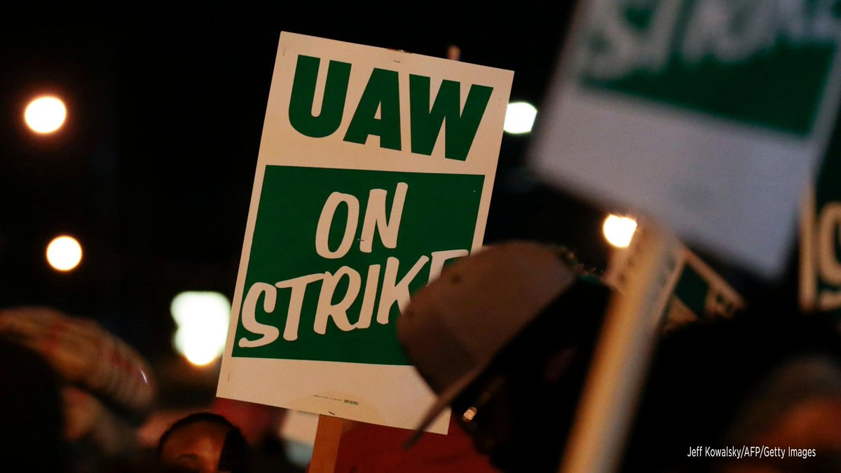 General Motors factories across the U.S. are shut down today after more than 49,000 United Auto Workers went on strike last night over failed contract talks. 📰 Read more: https://n.pr/2kjWaWF