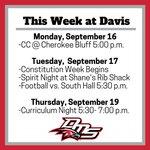 Image for the Tweet beginning: This week at Davis