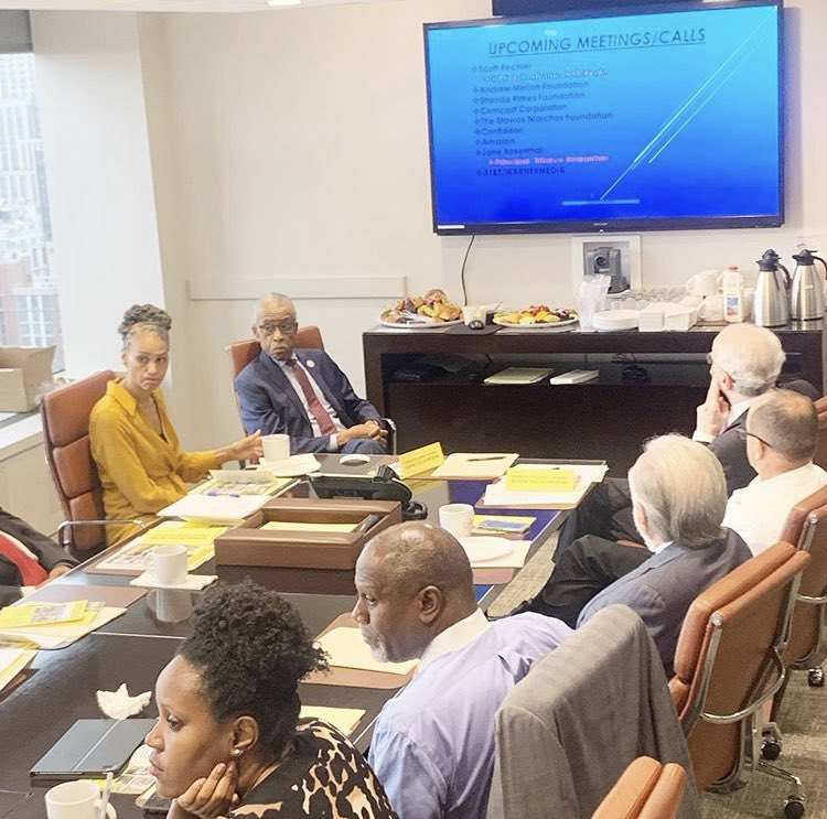 Chairing a Board Meeting of the Civil Rights Museum of N.Y https://t.co/IrpXcjdsjX