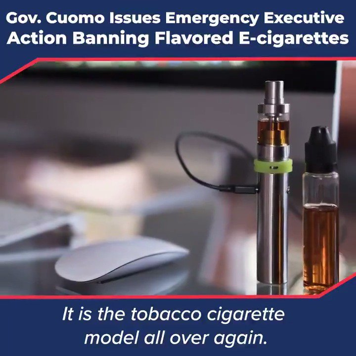 40 percent of 12th graders now vape, and the vast majority of them are using flavored products. By banning flavored e-cigarettes, we will prevent more New Yorkers from getting addicted to nicotine at a very young age.