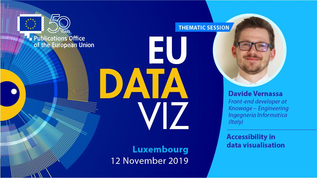 #EUDataViz register now and be part of the #datavisualisation event of the year!  https:// publications.europa.eu/eudataviz/      Davide Vernassa from @knowage_suite  will be there! #dataviz #Luxembourg<br>http://pic.twitter.com/IaZCi4M8Hu