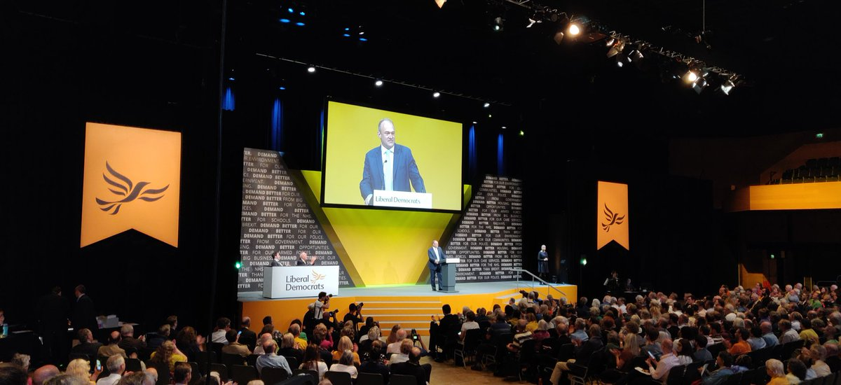 We must stop the climate chaos.   We know what needs to be done. We need Liberal Democrat leadership to take action NOW. @EdwardJDavey at #LDConf<br>http://pic.twitter.com/Cjt1orBcW8