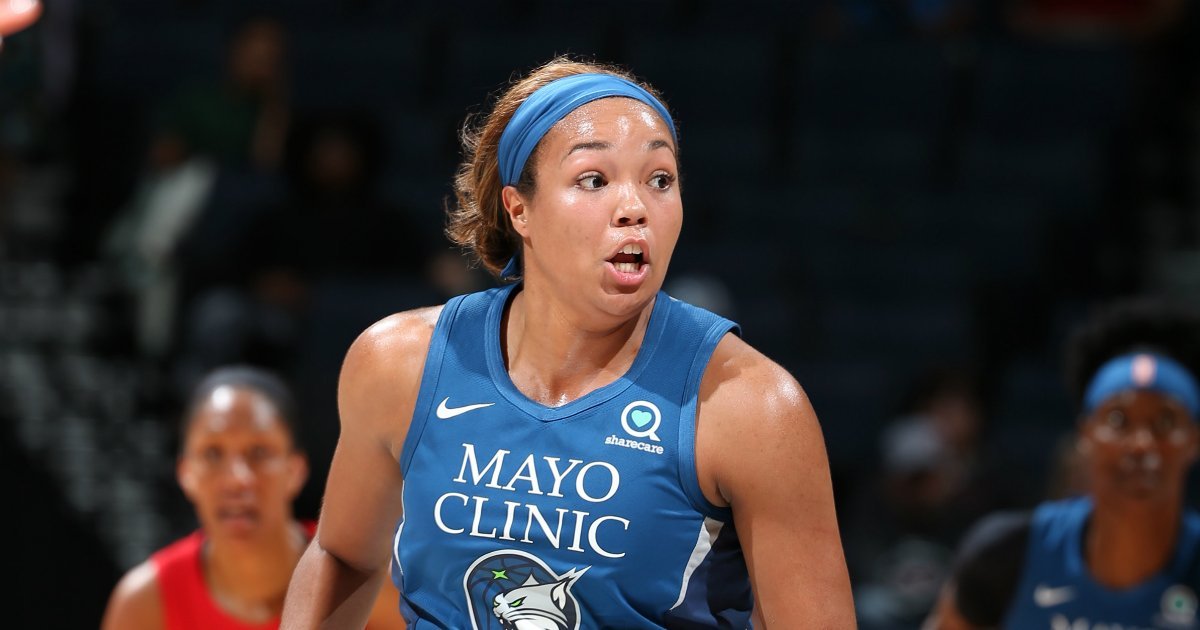 Congrats to @PHEEsespieces for winning the 2019 #WNBA Rookie of the Year award! 👏  Did you know: Collier is an alum of the Missouri Phenom - the youth program that won the Girls' #JrNBAGlobalChampionship this year! 😯