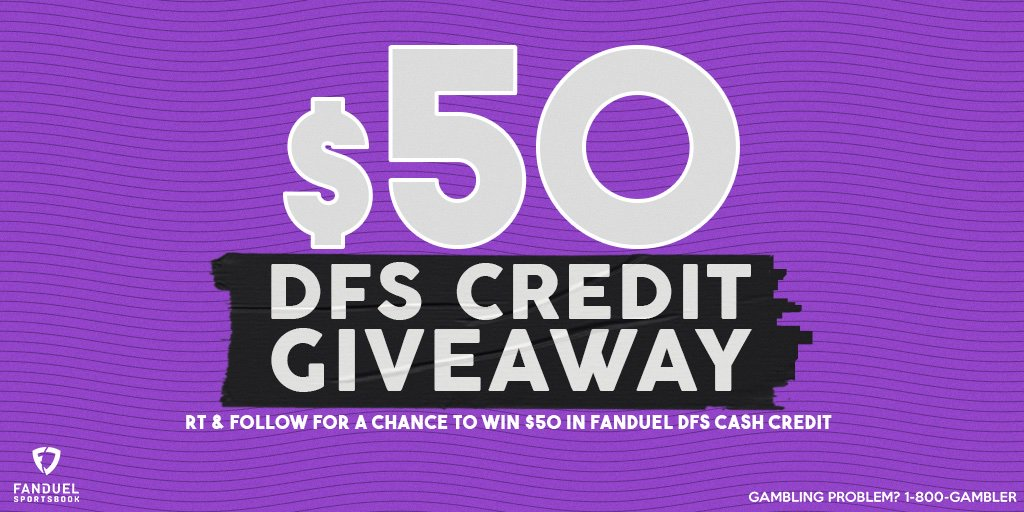 🚨 GIVEAWAY 🚨  You could win $50 in @FanDuel DFS Cash Credit 💰  To enter:  1⃣ RT  2⃣ FOLLOW: @FDSportsbook 3⃣ REPLY with which player you think scores the first TD tonight on #MNF  One random winner will be chosen from the correct answers!  Rules: http://go.fanduel.com/DdeyeO