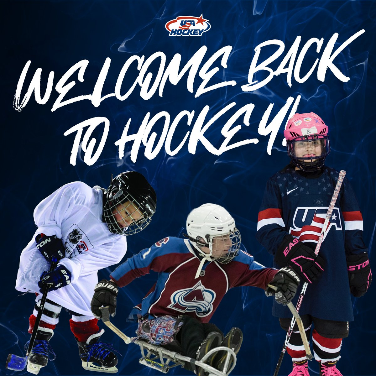 Let's make this the best season yet. 🏒 Welcome #BackToHockey, friends! → bit.ly/2kmW7cP