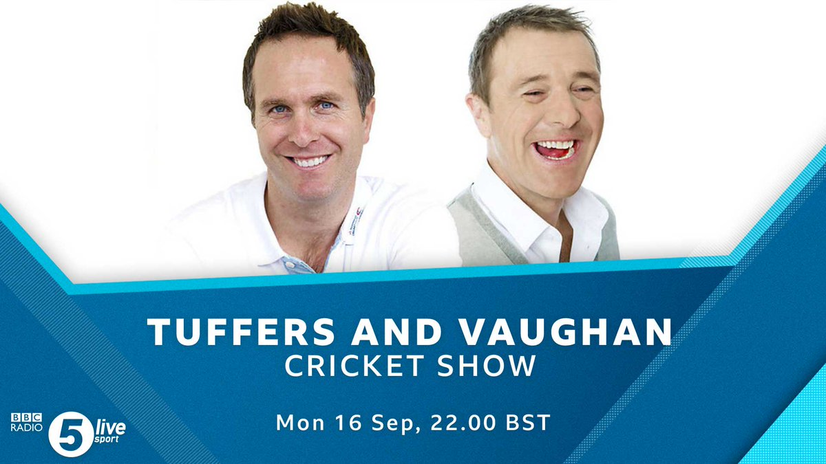 ⏲️ Coming up at 10...🏏@MichaelVaughan joins @markchapman to look back at an amazing summer of cricketWho will replace Trevor Bayliss as @englandcricket coach?Listen via @BBCSounds👇📻📱http://bbc.in/2AhzsDX