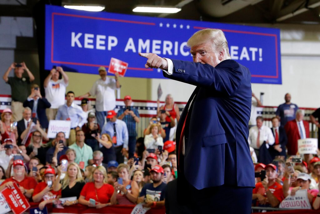 Watch President Trump's 'Keep America Great' campaign rally tonight in Rio Rancho, New Mexico -- LIVE on One America News! Tune in at 9PM EST / 6PM PST! #OANN<br>http://pic.twitter.com/Etqyx15XG7