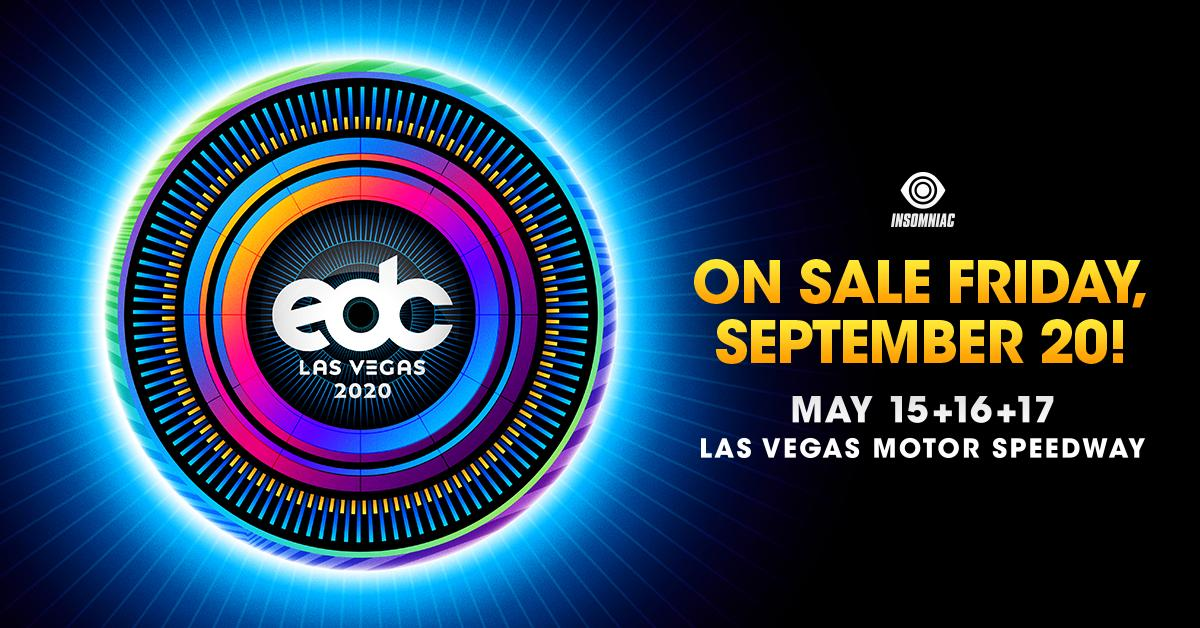 EDC Las Vegas tickets 2020