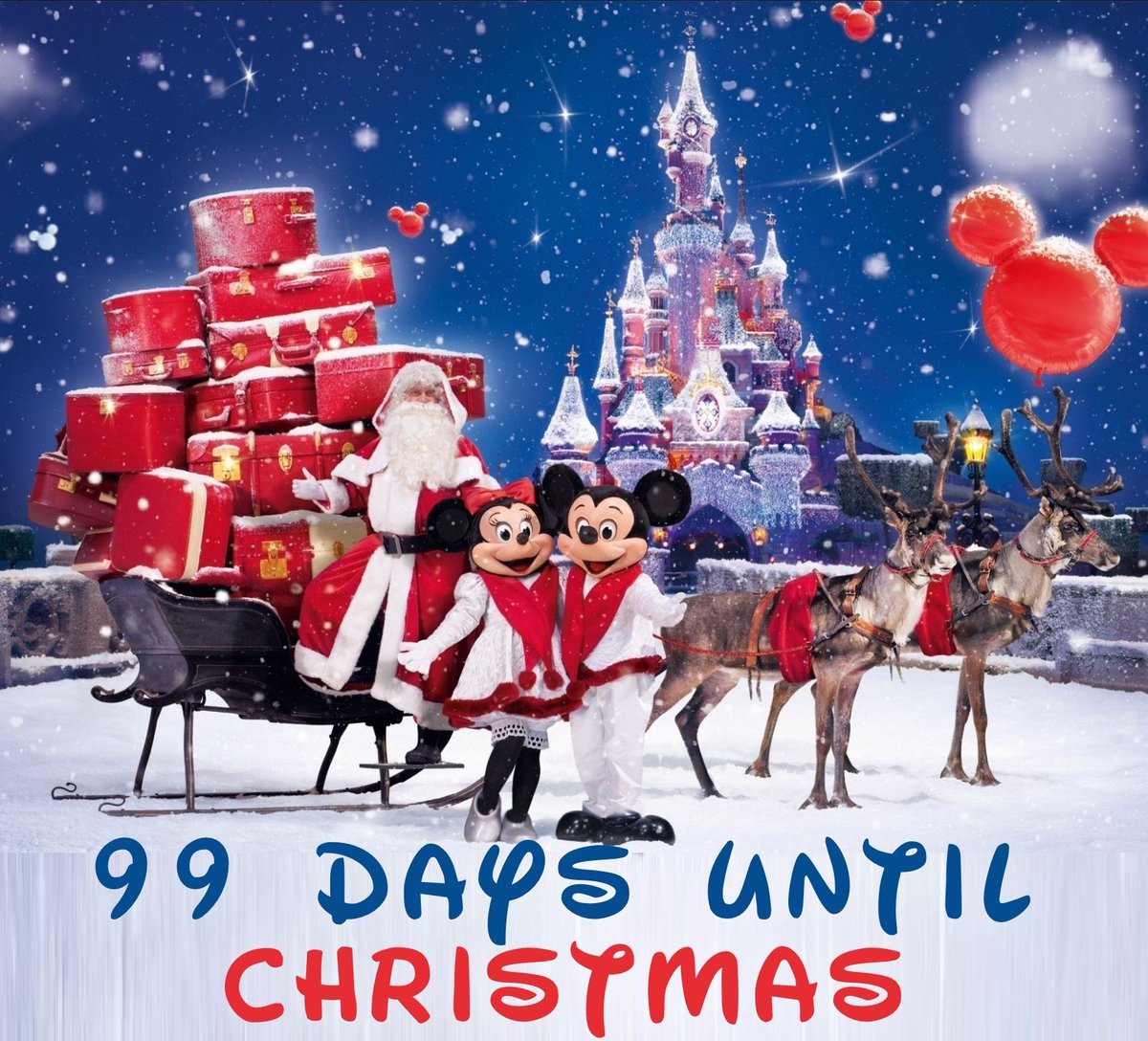 Until Christmas 99 Days Till Christmas.Your Christmas Countdown On Twitter Only 99 More Days