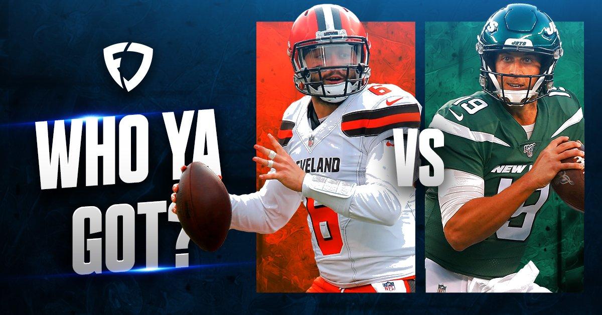Who ya got tonight?   RT: Browns Like: Jets