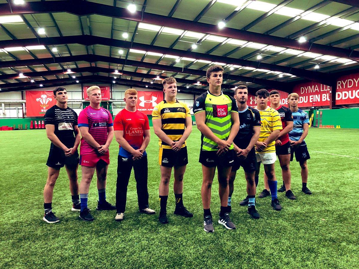 Lansiad swyddogol tymor newydd Cynghrair Ysgolion a Cholegau Cymru ar gyfer Rygbi Pawb 2019-20. We're at the #NCE for the official launch of the 2019-20 Schools & Colleges league.