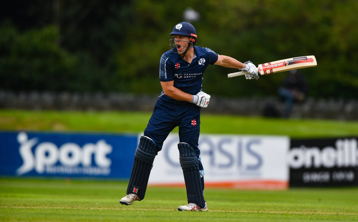 Special performance by @CricketScotland. They make 252/3 from 20 overs against @KNCBcricket. @GeorgeMunsey 127*In reply Netherlands 68-4 from 10. 👉https://www.bbc.co.uk/sport/cricket/scorecard/ECKO46832…#bbccricket