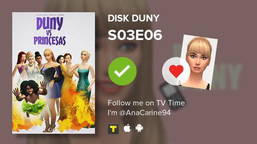 I've just watched episode S03E06 of Disk Duny! #diskduny  #tvtime  https:// tvtime.com/r/1asZG     <br>http://pic.twitter.com/nJoyNtZ4as