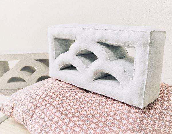 【昨日の人気記事】ブロック好きなあの人に お部屋の中に飾っておける「透かしブロックのぬいぐるみ」