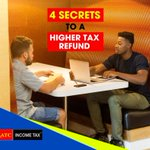 Sharing with you 4 secrets to a higher tax refund that you can apply for the next coming years.  Take a quick read and learn more about these secrets.  Click here: https://t.co/rgwrttGkLb