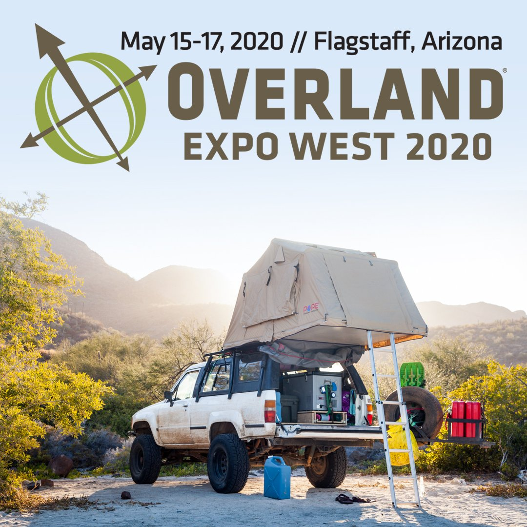 Overland Expo West >> Overland Expo On Twitter Announcement Overlandexpo