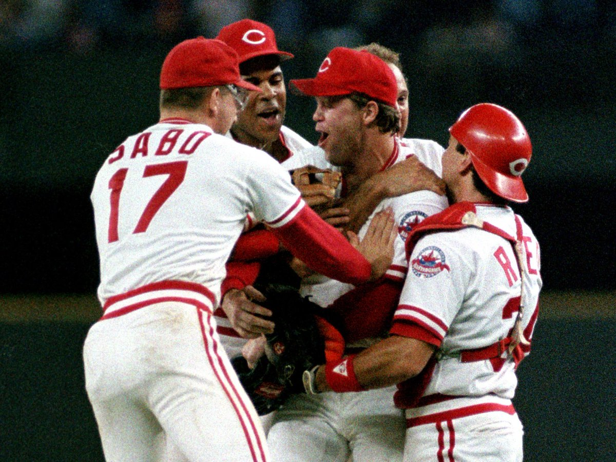 September 16, 1988: Tom Browning tosses the only perfect game in franchise history! #RedsVault https://t.co/M9izCUhH4O