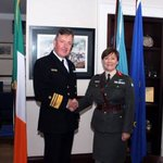Image for the Tweet beginning: Woman promoted to general in