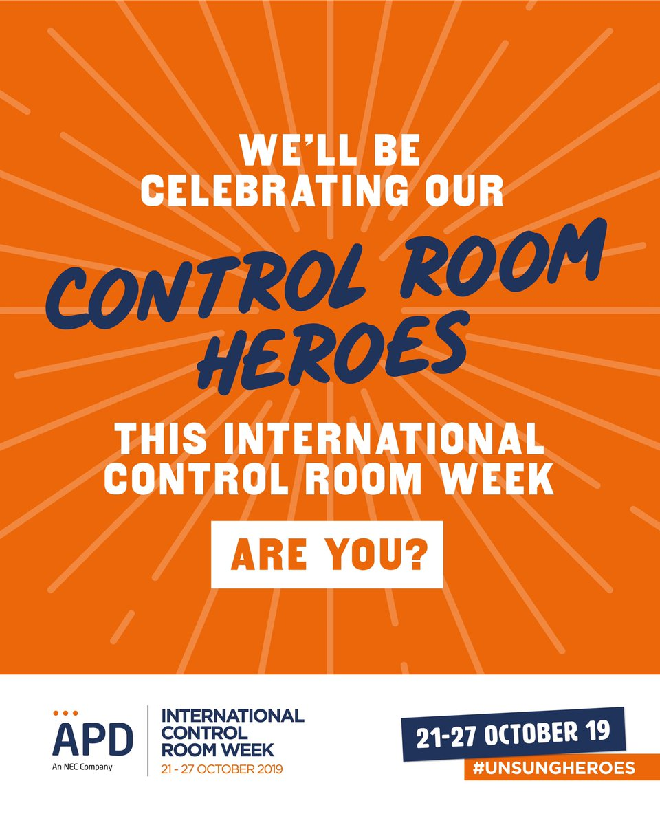 It's that time of year @GroupOfficers ! Register your Controlroom and give them some love 💗