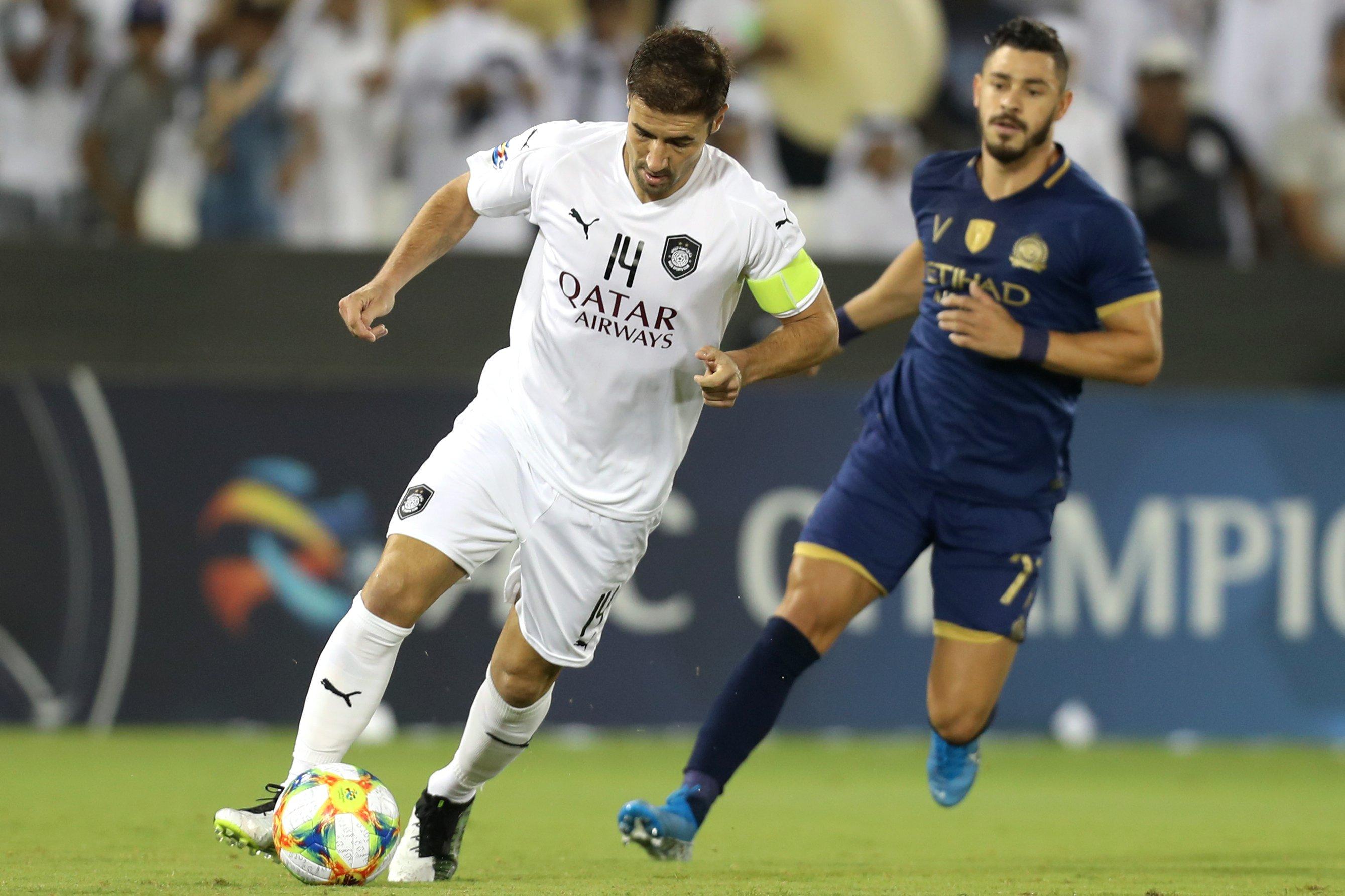 السد القطري يقصي النصر بصعوبة ويتأهل لنصف نهائي دوري أبطال آسيا
