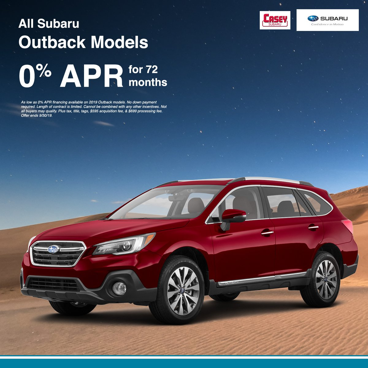 Subaru 0 Financing >> Casey Subaru On Twitter Now S The Time To Make The 2019