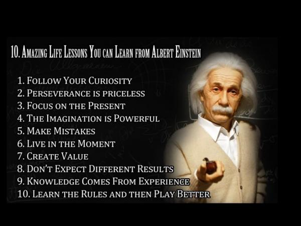 What can you learn from #alberteinstein? <br>http://pic.twitter.com/6U4oTr2mqS