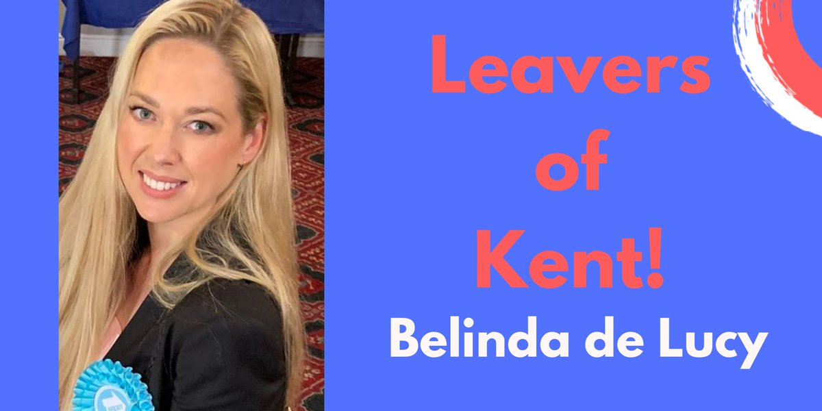 🚨New Event Alert 🚨 🗣 MEP for the South East: @BelindadeLucy 🛣 Join the #Kent discussion on the road to #Brexit! 📍#Canterbury   🗓 Tue 15th Oct 19th ✅ 🔗 bit.ly/2kv4Vxr 📲@Leavers_Britain @Lugey6 @LeaversKent