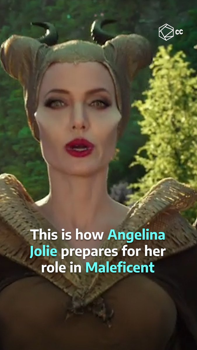 This is how Angelina Jolie transforms into #Maleficent 😲