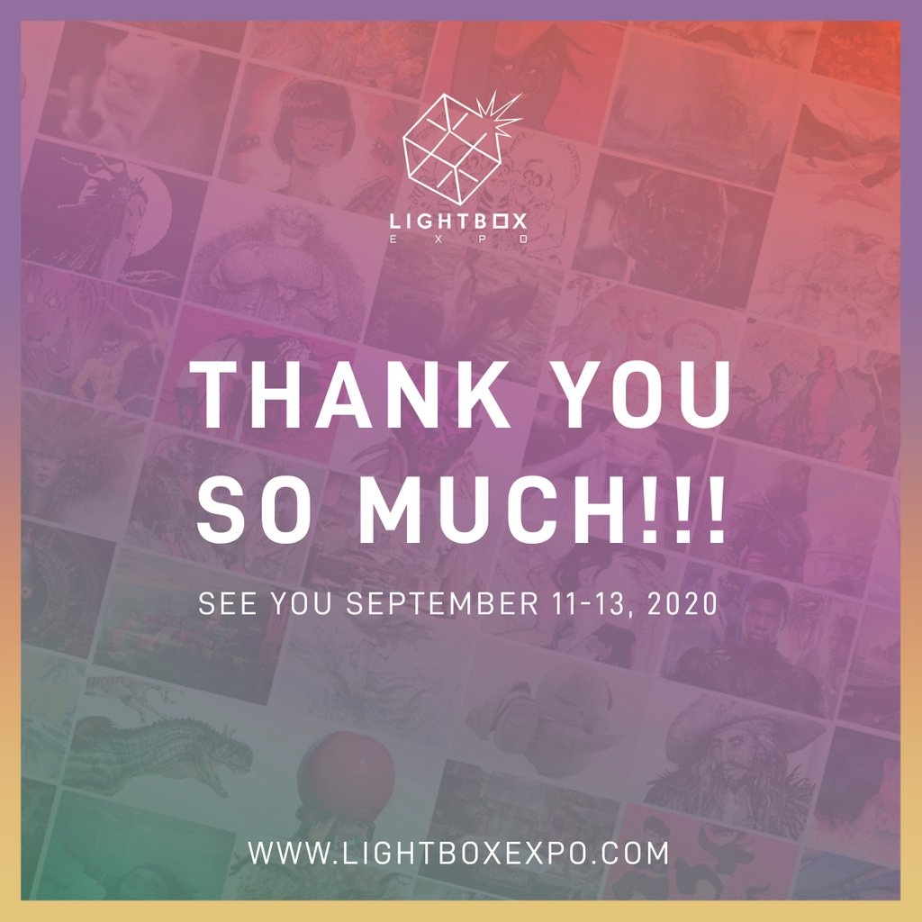 Thank you so much to everyone who came out to the inaugural LightBox Expo! The amazing & warm atmosphere that YOU created was felt throughout the event and we can't thank you enough! See you next year! #LBX2019 <br>http://pic.twitter.com/j3JLyYcDXJ