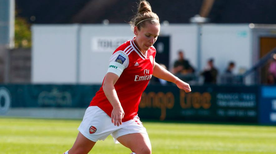 Manchester United host champions Arsenal in their first home game of the #WSL season.Follow it live: https://bbc.in/2kE75uH #MUNARS #bbcfootball #ChangeTheGame #MUFC #Arsenal