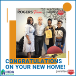 Image for the Tweet beginning: Congratulations to first-time homebuyer, Deborah