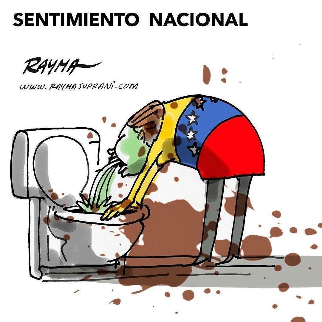 Este es el Sentimiento Nacional de Venezuela al ver esta jugada fraudulenta entre los politicos de conveniencia y los delincuentes del regimen. 👇🤮  De verdad creen que somos idiotas todos?