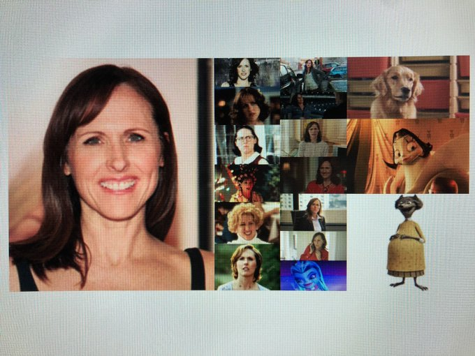 Happy 55th Birthday to actress and comedian, Molly Shannon!