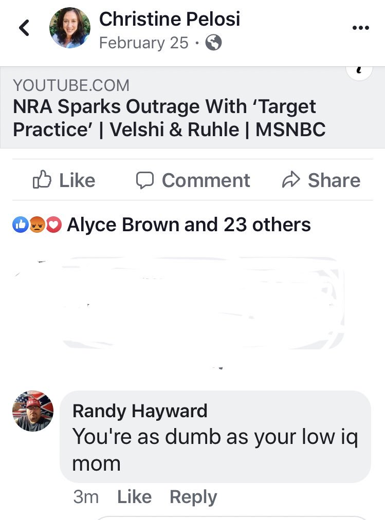 He trolled my post that is nearly 8 months old with a juvenile yo mama comment. Is anyone surprised that Randy is single?
