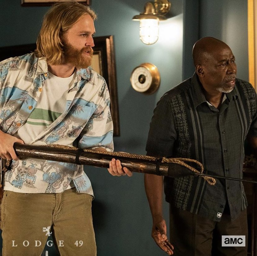 When you try to change the channel when @lodge49 is on 🏹.... Tune in tonight at on @AMC_TV 📺.