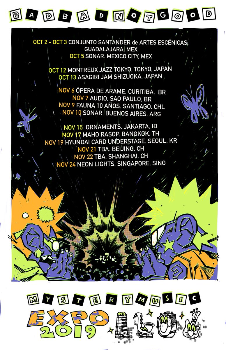 EXPO 19 - Very excited to head back out for our fall tour!!!     <br>http://pic.twitter.com/phPgnmAwtA
