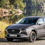 Image for the Tweet beginning: Mazda bringing electric car to