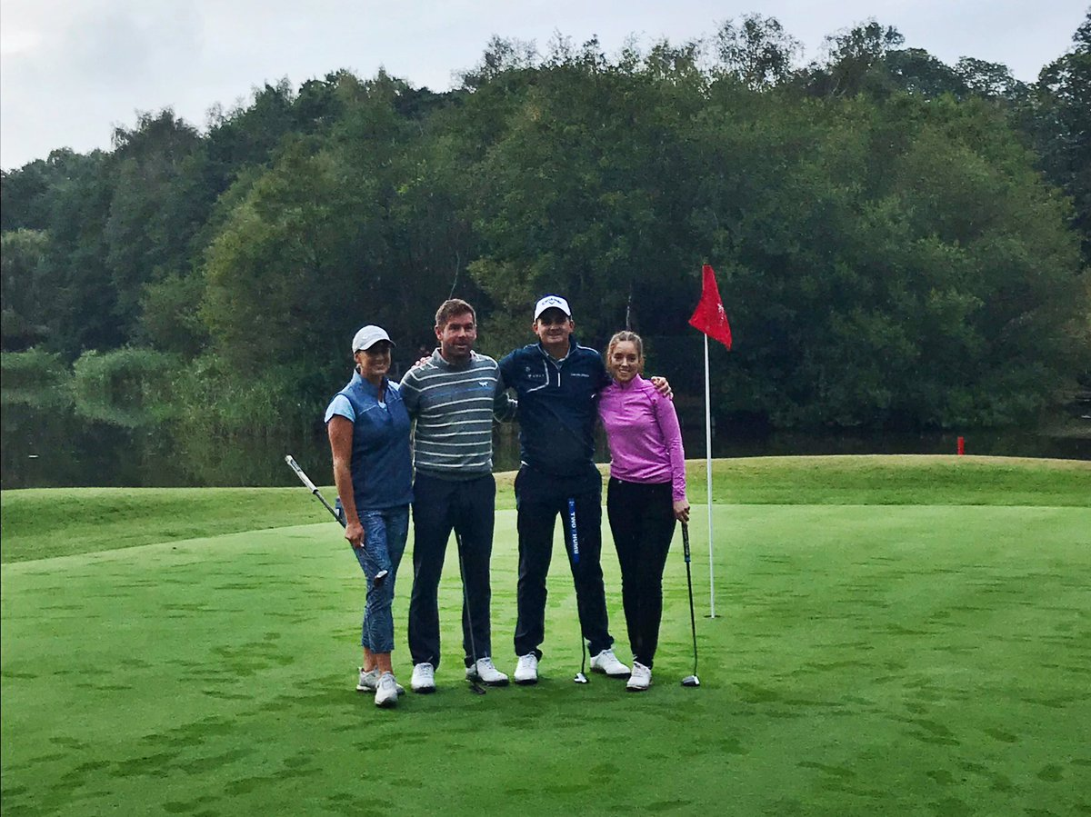 Success for team @EuroselectGolf at today's 2-hole shoot out ⛳️ Fantastic afternoon of golf in this mixed pairs competition - thanks to all involved Special thanks to our players! Supported by: @LexusTwickenham @euroselectgolf @modestgolf @galvingreen @CallawayGolfEU