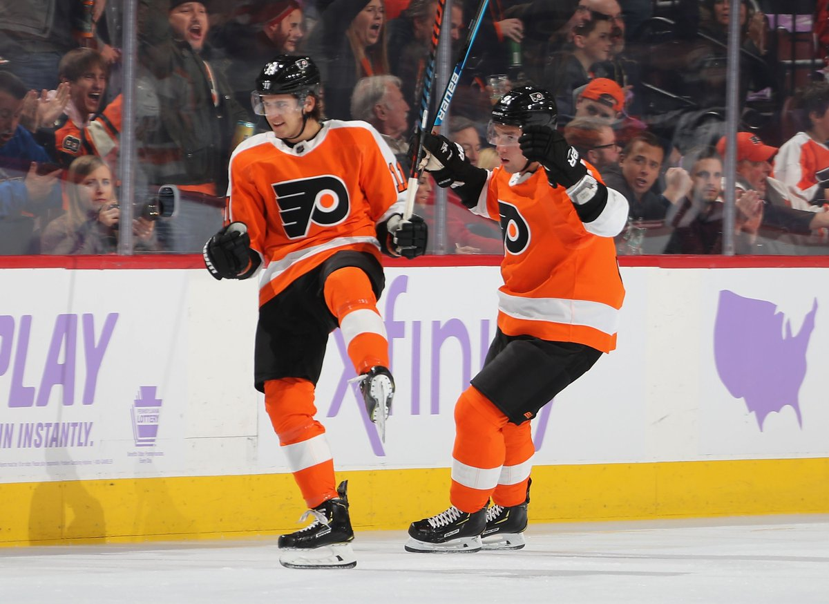 Replying to @NHLFlyers: Retweet if you announced TK and Provy.