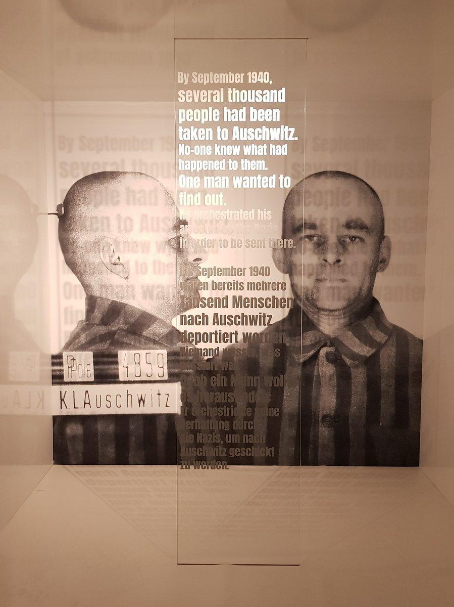 Jeśli będziecie w Berlinie, koniecznie ją zobaczcie! #Ochotnik. Witold Pilecki i jego misja w Auschwitz, Pariser Platz 4A - wystawa dostępna będzie do 31 marca 2020.