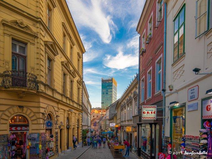 Radićeva ulica - street in Zagreb