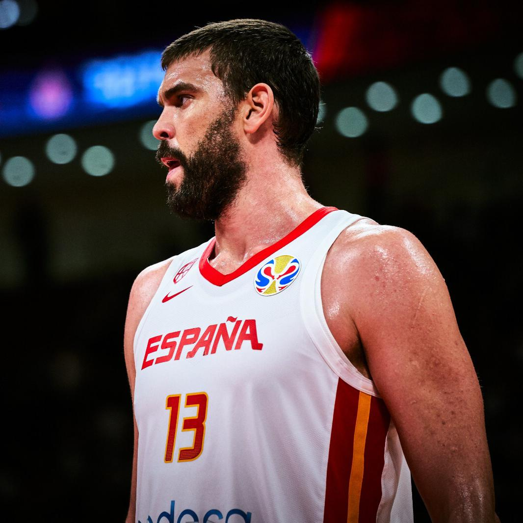 Two-time champion 🏆 @MarcGasol  🇪🇸 was selected among the #FIBAWC All-Star 5! 👏